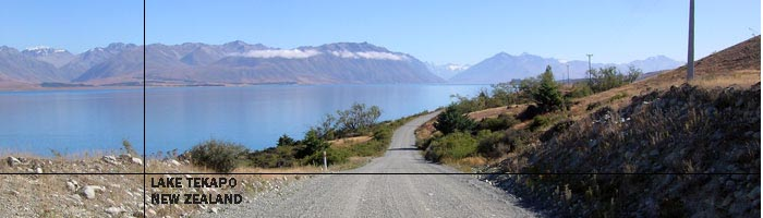 Lilybank Road - Lake Tekapo