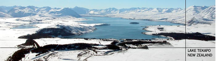 Winter in Lake Tekapo