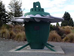 Original turbine from the Tekapo A power station