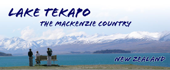 Lake Tekapo - The Mackenzie Country. New Zealand