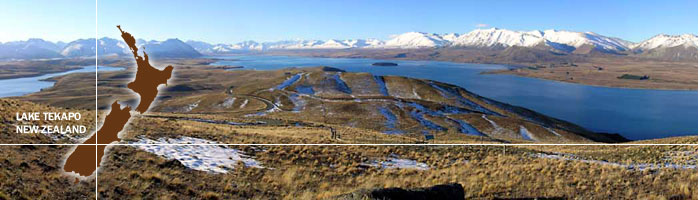 Tekapo Tourism webcam. New Zealand