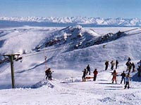 Winter activities for the visitor to lake tekapo and the Lake tekapo motor camp