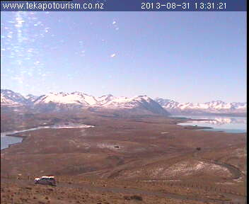 Tekapo Tourism webcam. North West view
