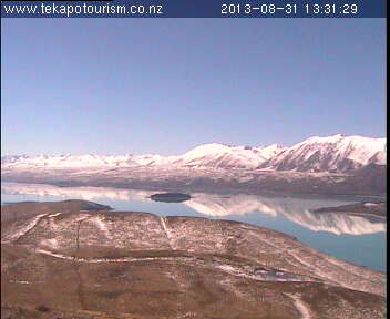 Tekapo Tourism webcam. North East view.