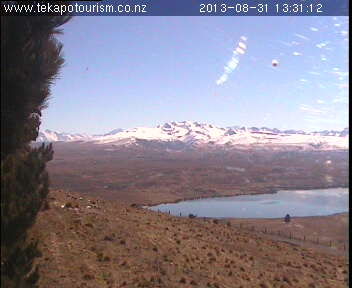 West view - Tekapo Tourism webcam