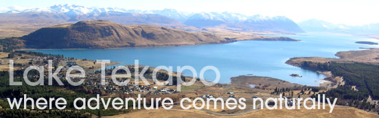 Lake Tekapo - where adventure comes naturally
