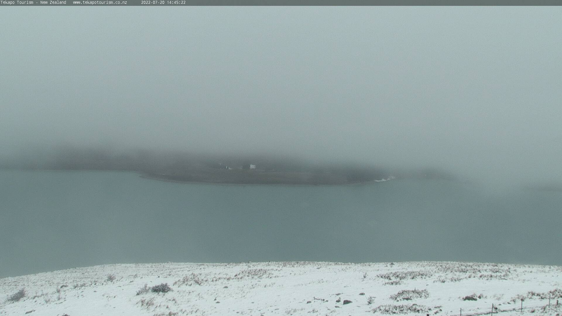 Tekapo Tourism webcam. East view.