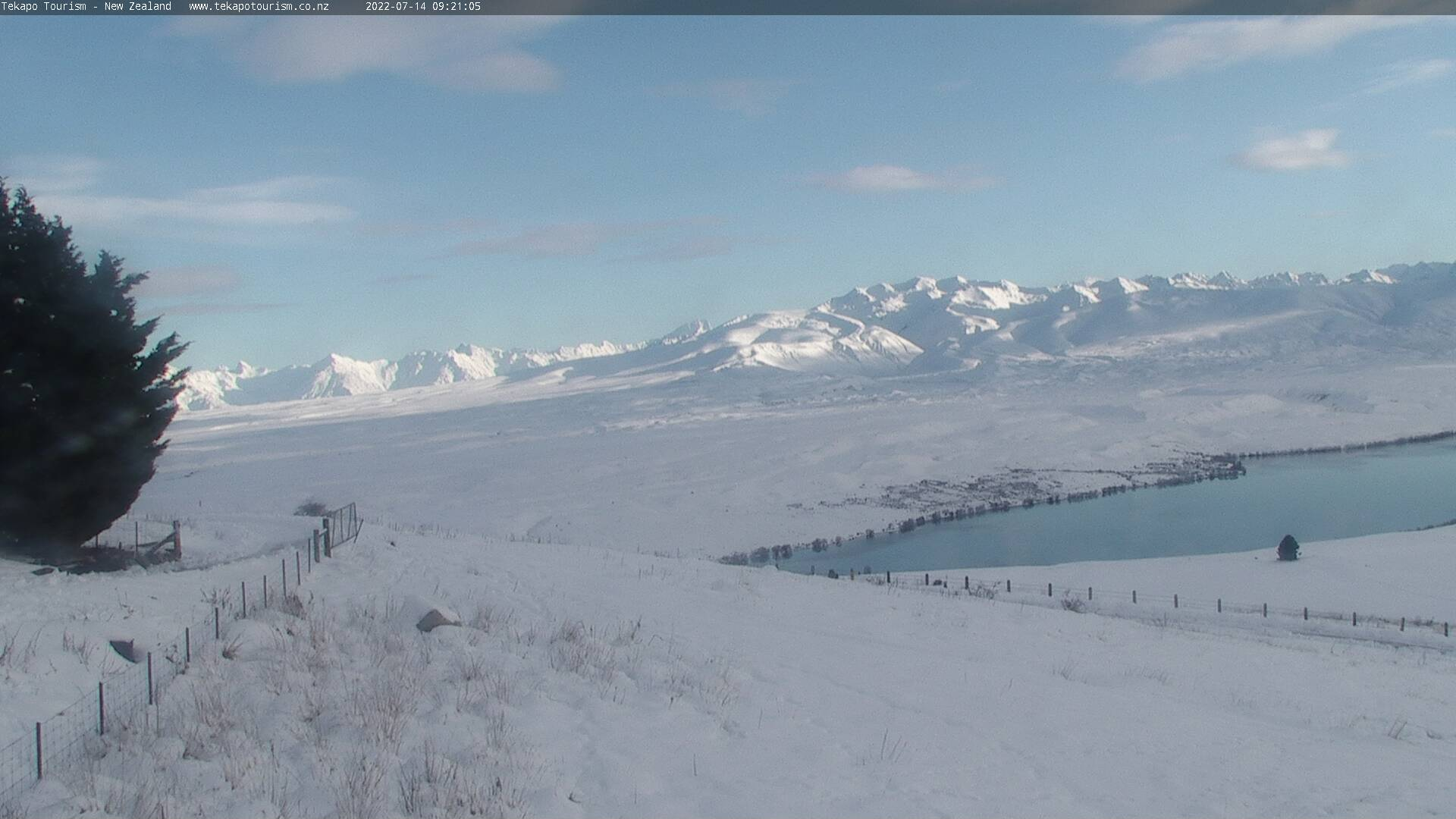 Tekapo Tourism webcam - West view